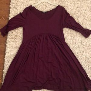 Maroon dress never worn